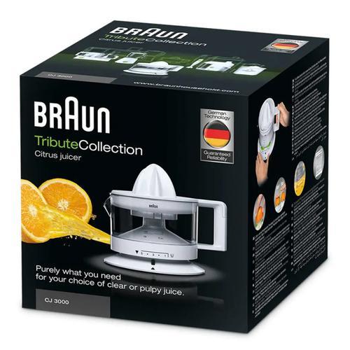 Braun Citrus Juicer CJ 3000 - White