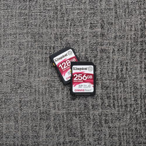 Kingston 128GB Canvas React SD Card (SDXC) - 100MB/s