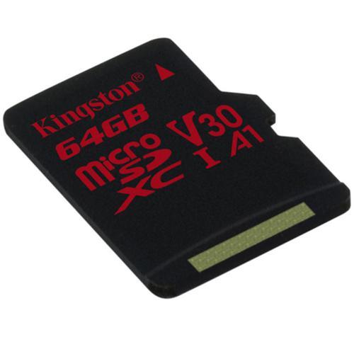 Kingston 64GB Canvas React Micro SD Card (SDXC) UHS-I U3 V30 - 100MB/s