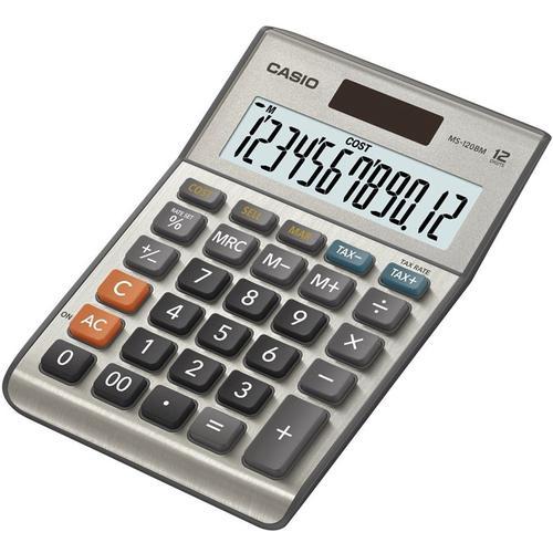 Casio Desk Calculator 12 Digit Tax/Cost/Sell/Margin Calculator (MS-120BM)