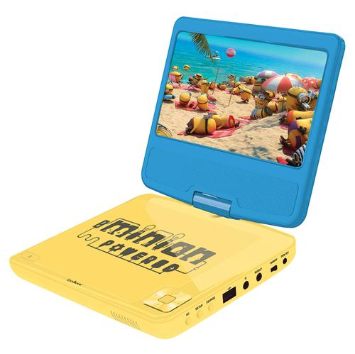 Lexibook Despicable Me Portable DVD Player Stereo with USB Port - 7 inch LCD
