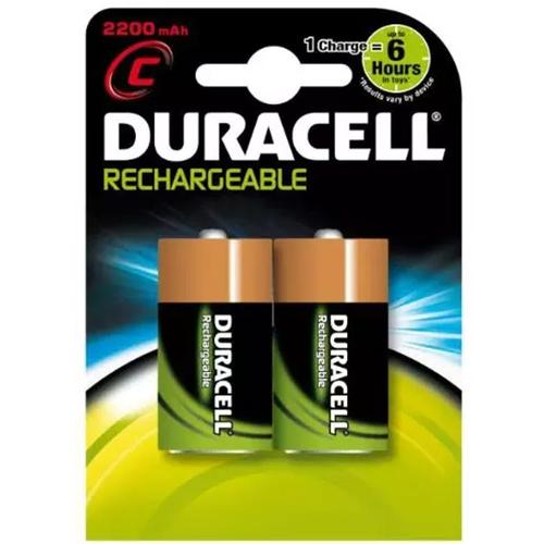 duracell staycharged 2200mah c rechargeable batteries 2 pack 8 99