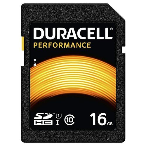 Duracell 16GB Performance SD Karte (SDHC)