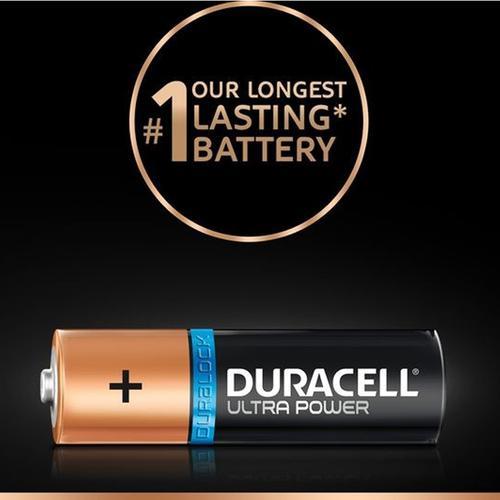 Duracell Ultra Power AA Batteries - 8 Pack