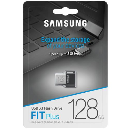 Samsung 128GB Fit Plus USB 3.1 Flash Drive - 300MB/s