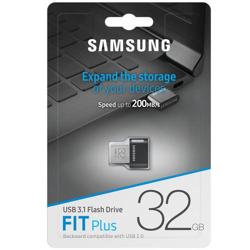 Samsung 32GB Fit Plus USB 3.1 Flash Stick - 200MB/s