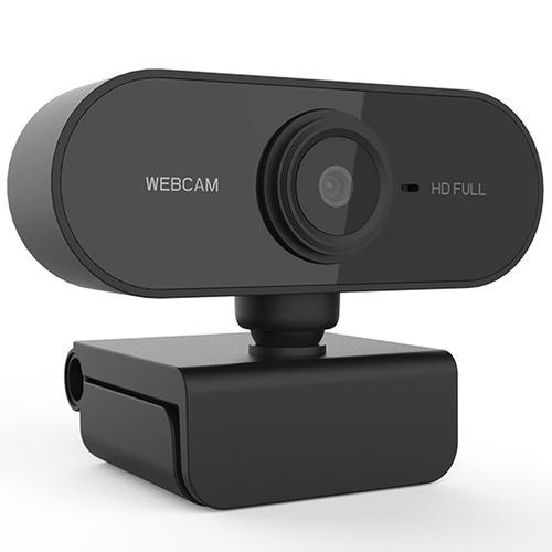 Full HD USB Plug & Play Webcam - Black