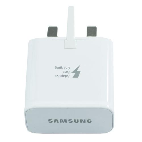 Samsung Galaxy 2A Mains Fast Charger + 1.2M USB-C Cable - White
