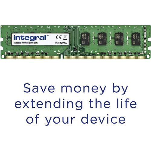 Integral 8GB (1x 8GB) 1600MHz DDR3 DIMM PC Memory Module