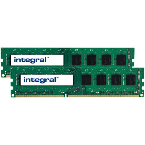 Integral 16GB (2x 8GB) 1600MHz DDR3 DIMM PC Memory Module Kit