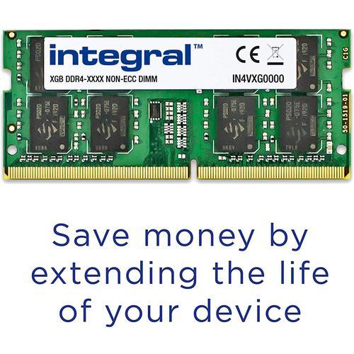 Integral 16GB (2x 8GB) 2400MHz DDR4 SODIMM Laptop Memory Module Kit