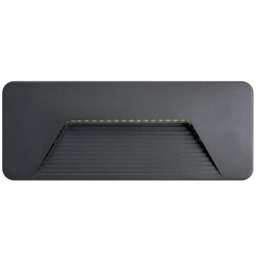 Integral Outdoor PathLux Surface Brick Light 3w (150lm) Warm White - Dark Grey