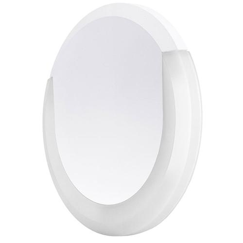 Integral Outdoor Lunox LED Mini Wall Light 8W 3000K (Warm) IP54 - White