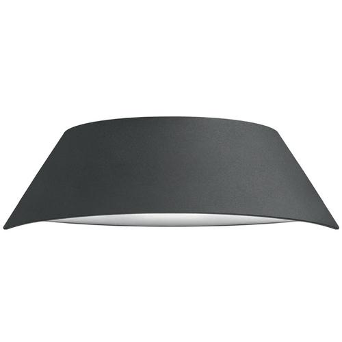 Integral VistaLux Wall Light IP65 9w 400lm 3000K - Dark Grey