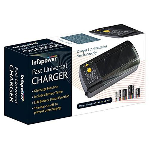 Infapower Fast Universal Battery Charger