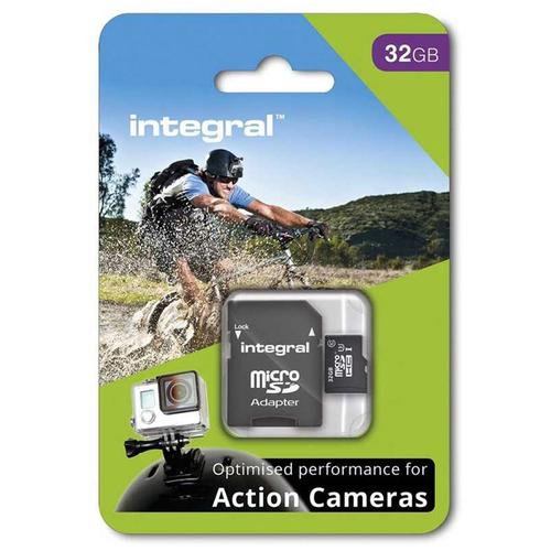 Integral 32GB Action Camera Micro SD Card (SDHC) UHS-I U3 - 90MB/s