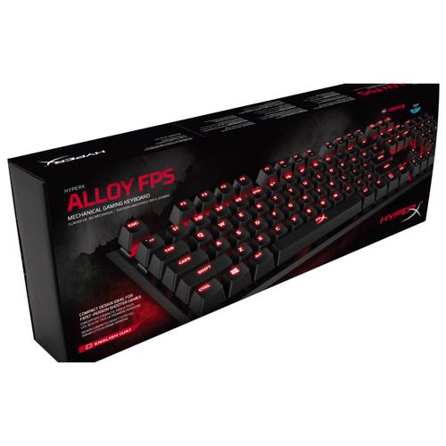 HyperX Alloy FPS Mechanical Gaming Keyboard Cherry MX Red (English UK)