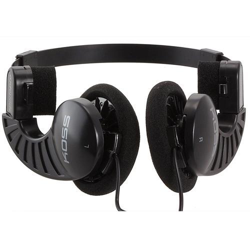 Koss Sporta Pro On-Ear Portable Headphones - Black