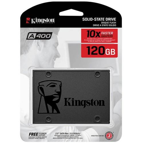 Kingston 120GB SSD A400 Solid State Laufwerk 2.5 Inch SATA 3