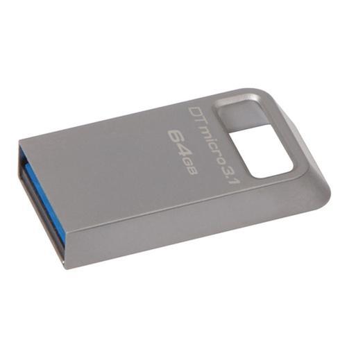 Kingston 64GB DataTraveler Micro 3.1 USB 3.0 Flash Drive - 100Mb/s