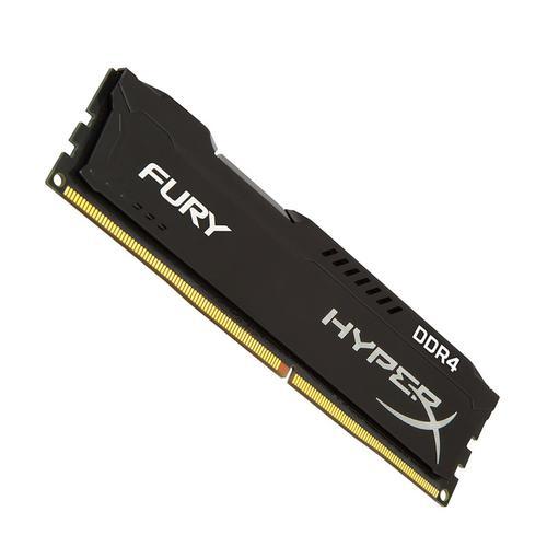 HyperX FURY Black 8GB (1x8GB) Memory Module PC4-23400 2933MHz DDR4 CL17 288 Pin DIMM 1.2V