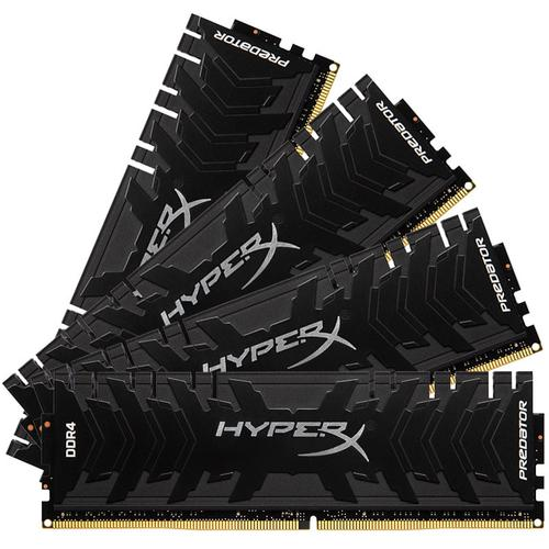 HyperX Predator 32GB (4x8GB) Memory Kit PC4-21300 2666MHz DDR4 CL13 288-Pin DIMM 1.35V