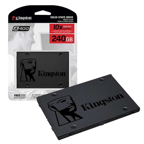 """Kingston 240GB A400 SSD 2.5"""" SATA 3 Solid State Laufwerk - 500MB/s"""