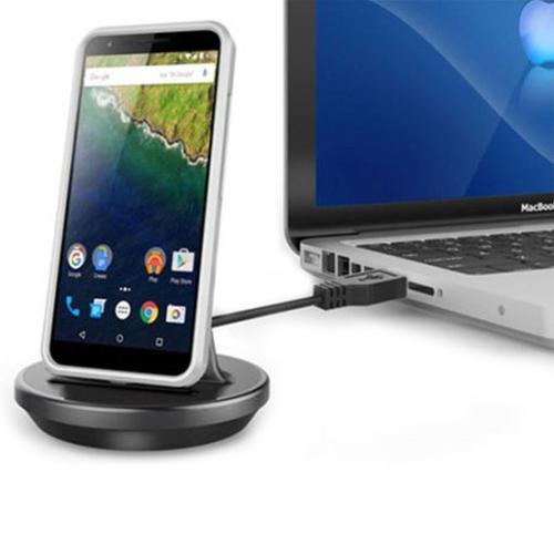Kidigi Universal USB-C Desktop Charging Dock - Black (USB-C)
