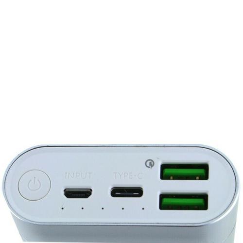 LOVE M.E Charge Me 20000mAh 2.1A Portable Power Bank - Silver
