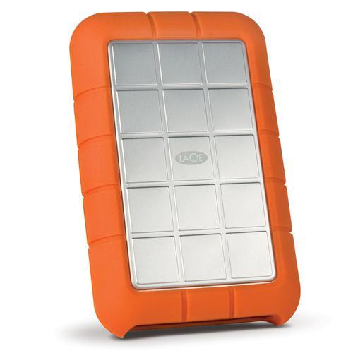 LaCie 2TB Rugged Triple FireWire800 Mini Portable External Hard Drive USB 3.0 - 5.0 Gbps