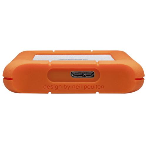 "LaCie 4TB Rugged 2.5"" Mini Portable External HDD USB 3.0 - 5.0 Gbps"