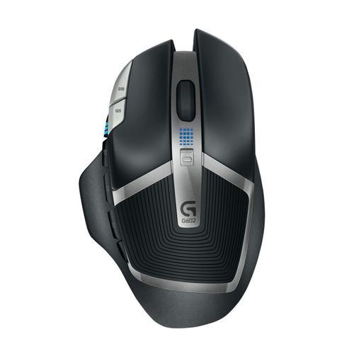 Logitech G602 Programmable Wireless Gaming Mouse 2.4GHz 2500 DPI PC Mac - Black
