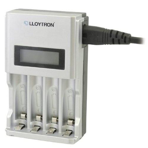 Lloytron Ultrafast Intelligent LCD Home Charger For AA AAA 1399