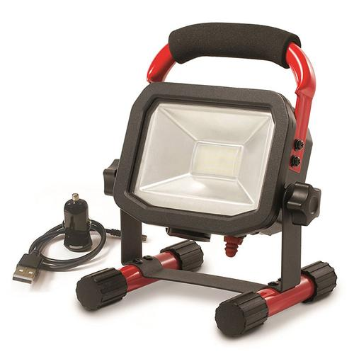 Luceco 5W Rechargeable Work Light + In Car Charger (LSWR5BR-01)