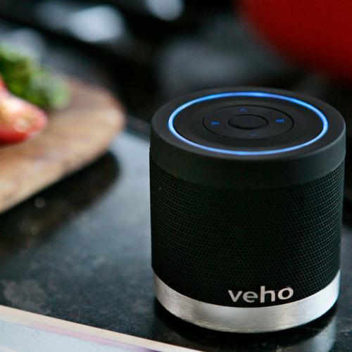Veho M-4 Wireless Bluetooth Portable Rechargeable Speaker (Black)