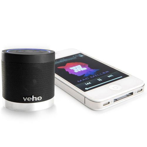 Veho M-4 Bluetooth Portable wiederaufladbare Lautsprecher (schwarz)