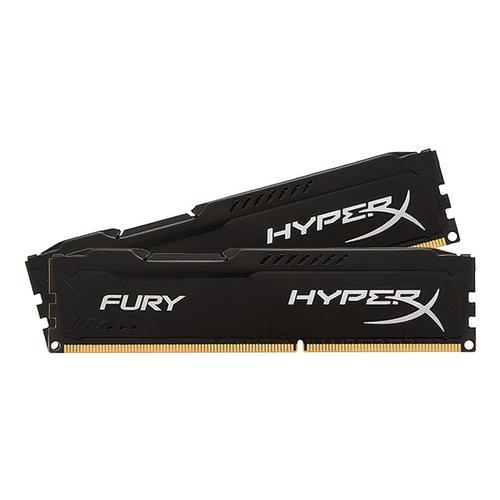 HyperX FURY Black 32GB (2x16GB) Memory Kit PC4-27700 3466MHz DDR4 CL19 288-Pin DIMM 1.2V
