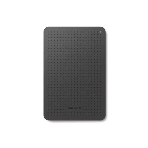 "Buffalo 1TB MiniStation Portable USB 3.0 2.5"" Hard Drive (Black) - 400MB/s"