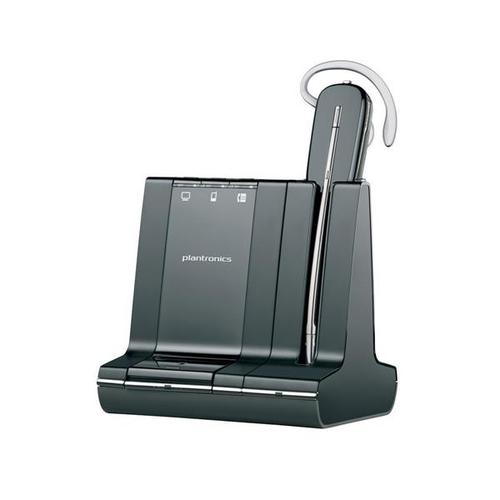 Plantronics Savi W740/A Savi 3 in 1 Convertible UC Wireless DECT Headset System