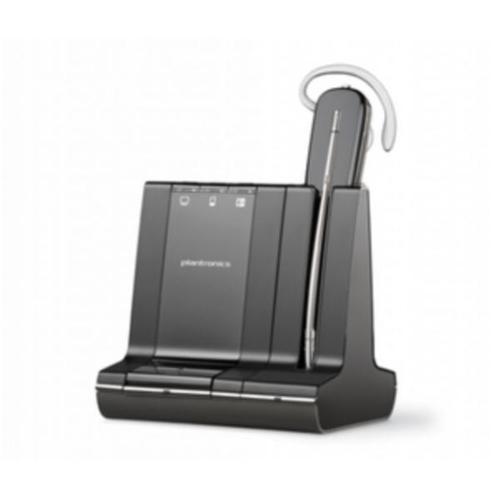 Plantronics Savi W745-M Convertible Wireless Headset Unlimited Talk Time