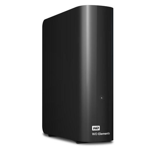 "WD 4TB Elements Desktop HDD 3.5"" External Hard Drive USB 3.0 - Black"