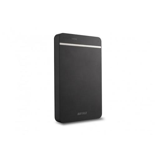 "Buffalo 500GB MiniStation Portable USB 3.0 2.5"" Hard Drive (Black) - 400MB/s"