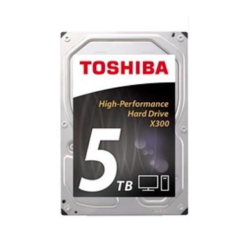 """Toshiba 5TB 7200rpm 3.5"""" SATA 6.0 Gb/s X300 Internal HDD 128MB Bulk"""