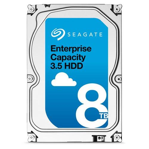 "Seagate Enterprise Capacity (8TB) 3.5"" HDD 7200rpm 12Gb/s SAS 256MB (Internal) - 512 Emulation Model"