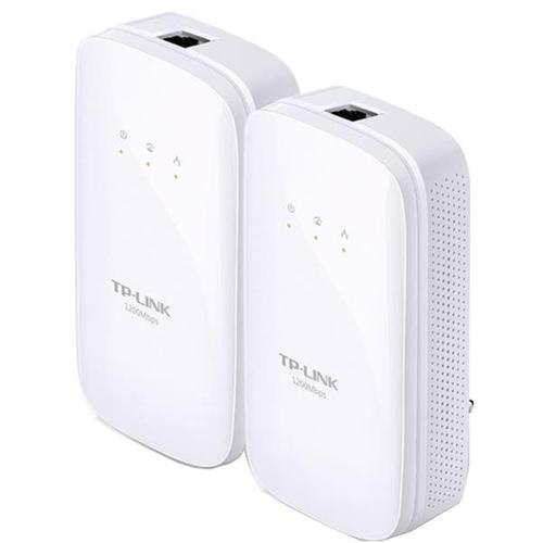 TP-Link AV1200 TL-PA8010 1200Mbps Gigabit Powerline Starter Kit White (Twin Pack)