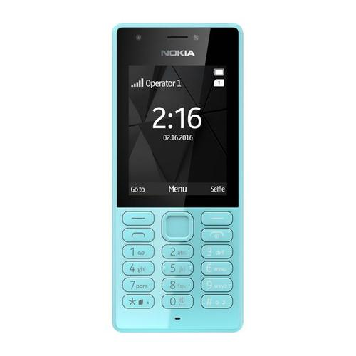 Nokia 216 (2.4 inch) 0.3MP Mobile Phone (Blue)