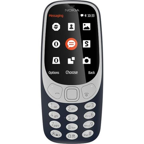 Nokia 3310 (2.4 inch) 2MP Mobile Phone (Dark Blue)