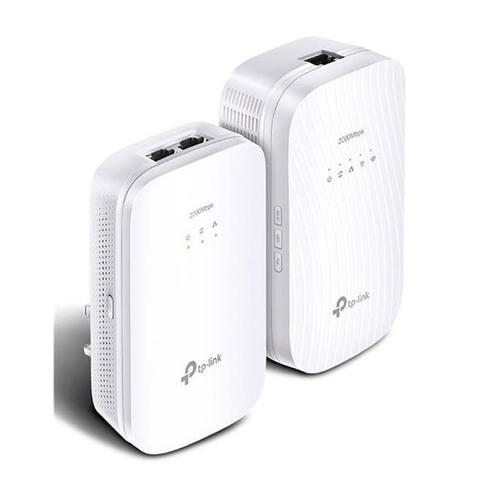 TP-Link AV2000 TL-WPA9610 2000Mbps Gigabit Powerline AC Wi-Fi Kit (White)