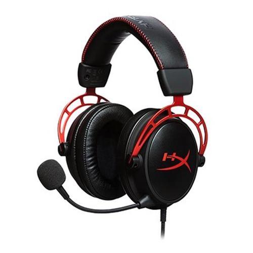 HyperX Cloud Alpha Pro Gaming Headset (Black/Red)