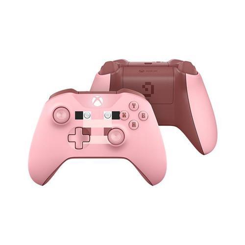 Microsoft Xbox One Wireless Controller Minecraft Pig